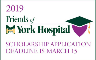 2019 Friends of York Hospital Scholarship Applications are Available Now