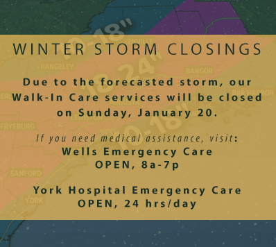 Winter Storm Closings: Sunday, 1/20/19